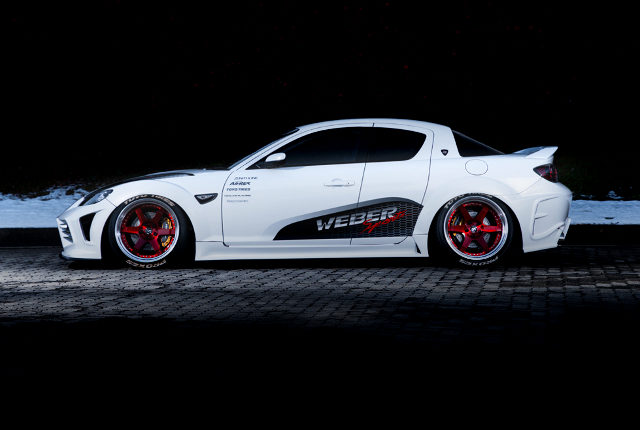 SIDE EXTERIOR RX-8 STANCE