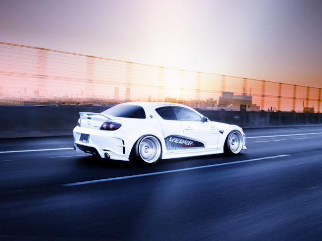 REAR EXTERIOR RX-8 SPIRIT-R