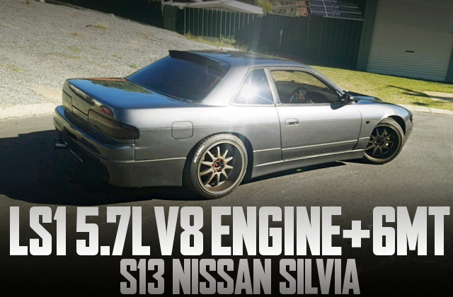 LS1 V8 ENGINE S13 SILVIA