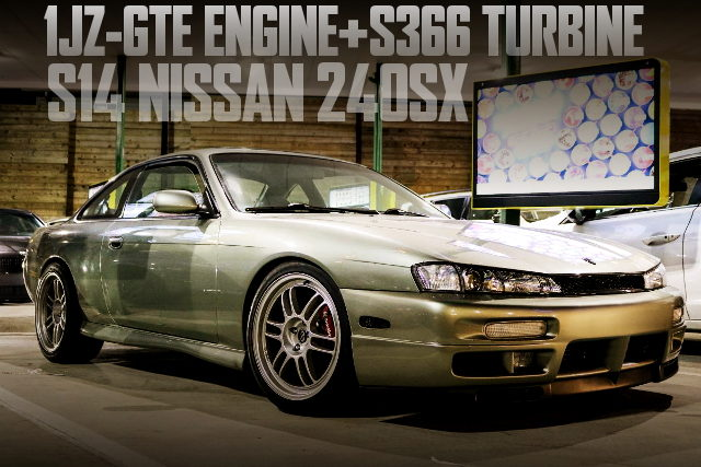 1JZ ENGINE S366 TURBI S14 240SX