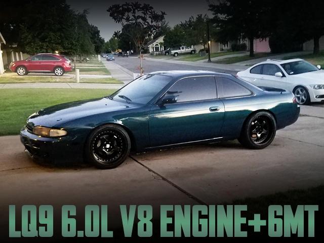 LQ9 6000cc V8 SWAP S14 ZENKI 240sx