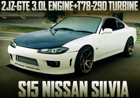 2JZ-GTE ENGINE SWAP S15 SILVIA