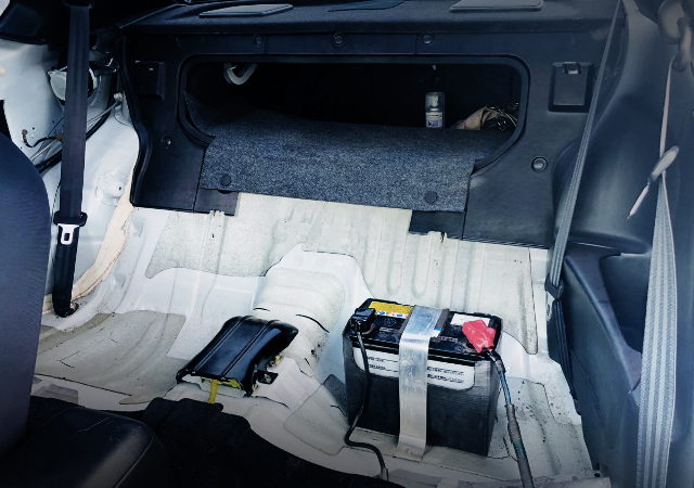 BATTERY RELOCATION FRON INTERIOR
