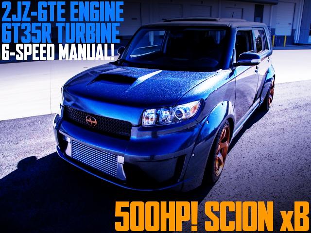 2JZ-GTE SWAP SCION xB