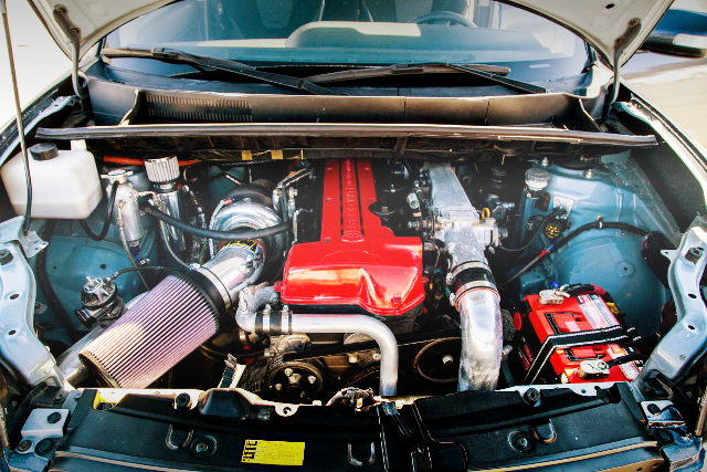 2JZ-GTE ENGINE with GT35R TURBO