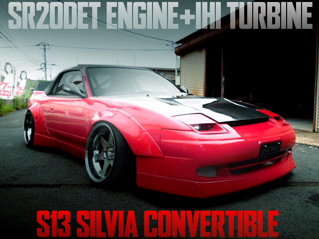 WORKS WIDE S13 SILVIA CONVERTIBLE