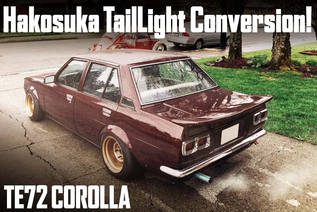 HAKOSUKA TAIL LIGHT CONVERSION TE72
