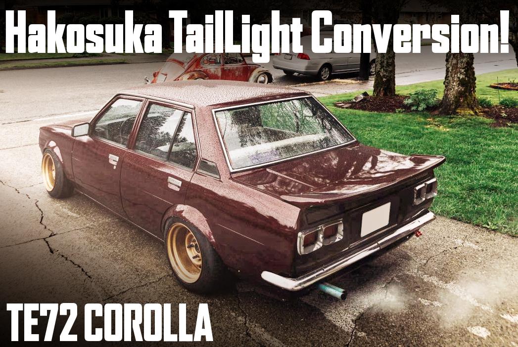 HAKOSUKA TAIL LIGHT CONVERSION TE72