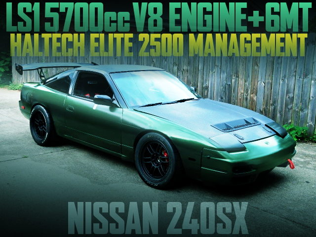 LS1 V8 ENGINE 6MT S13 240SX FASTBACK