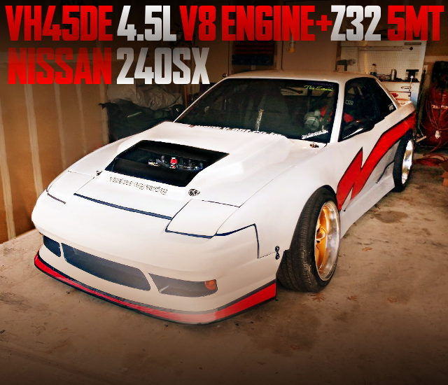 VH45DE V8 ENGINE S13 240SX COUPE