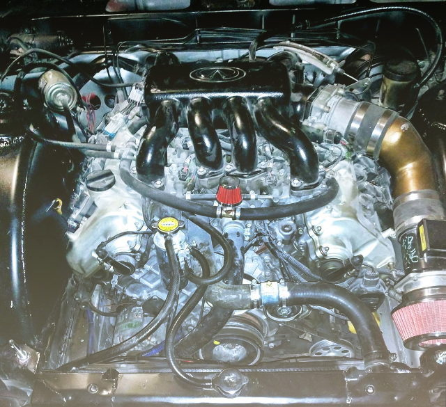 VH45DE 4500cc V8 ENGINE