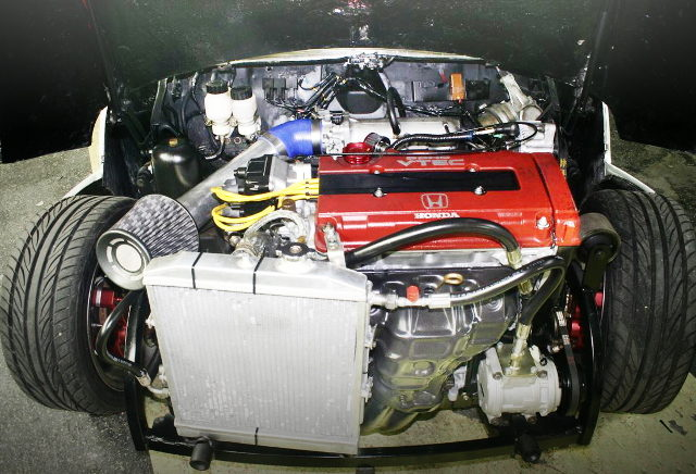 TYPE-R B18C VTEC ENGINE ON MINI