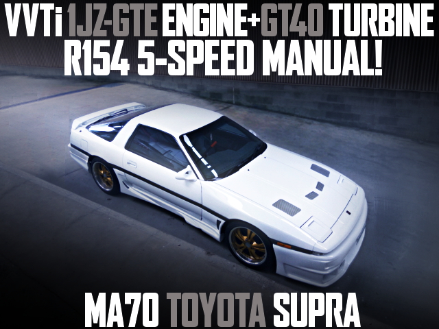 1JZ VVTi TURBO SWAP MA70 SUPRA