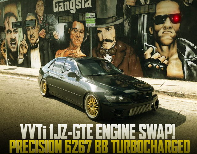 VVTi 1JZ SWAP LEXUS IS300