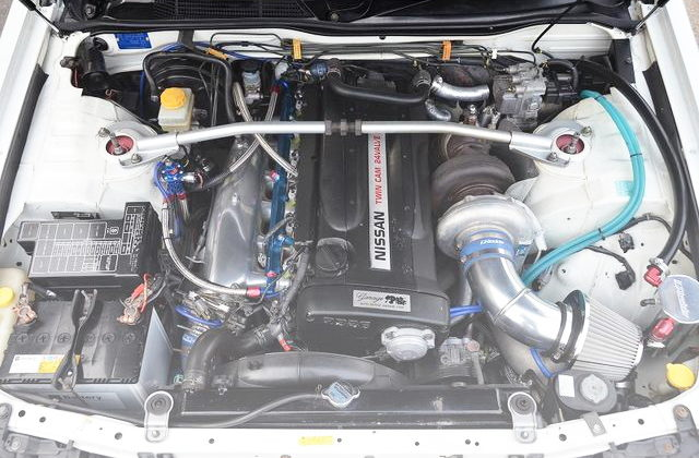 T88-34D SINGLE TURBO RB26 ENGINE