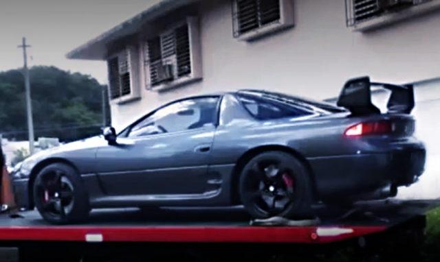 REAR EXTERIOR MITSUBISHI 3000GT GTO