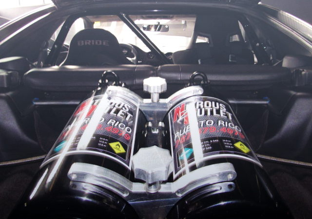 NITROUS OUTLET TWIN TANK