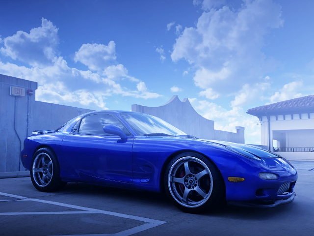 BLUE MICA PAINT FD3S MAZDA RX7