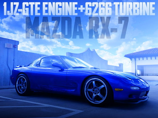1JZ PRECISION TURBO MAZDA RX-7