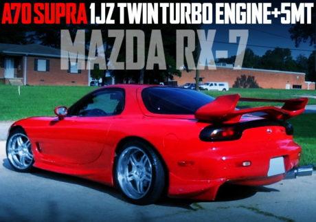 1JZ TWINTURBO ENGINE FD RX-7