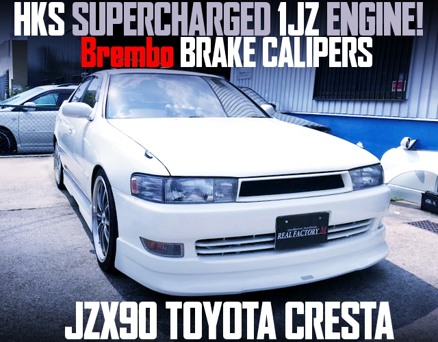 1JZ SUPERCHARGER ENGINE JZX90 CRESTA