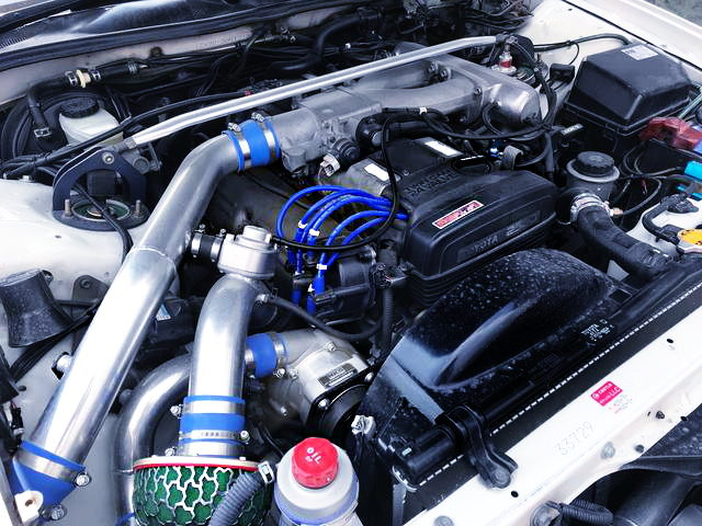 SUPERCHARGED 1JZ-GE ENGINE