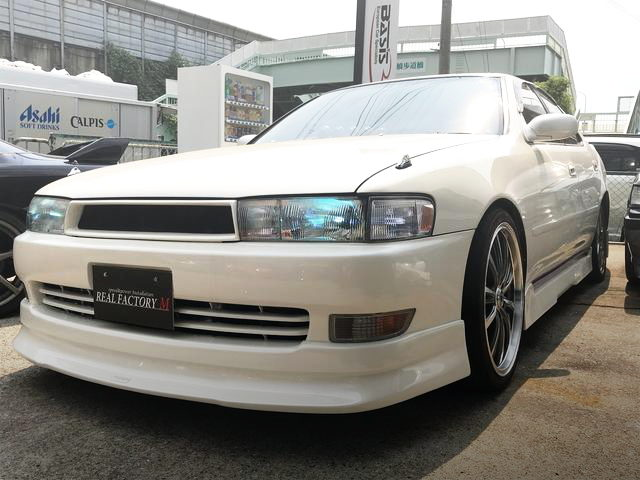 FRONT FACE JZX90 CRESTA WHITE
