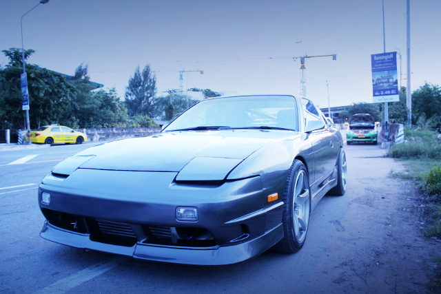 FRONT FACE S13 200SX GRAY
