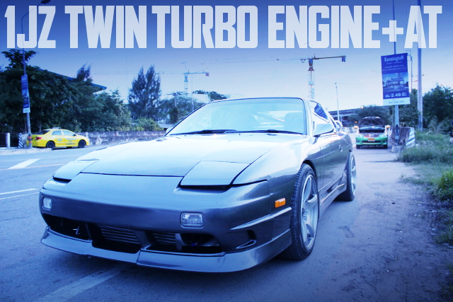 1JZ TWINTURBO WITH AT-SHIFT 200SX