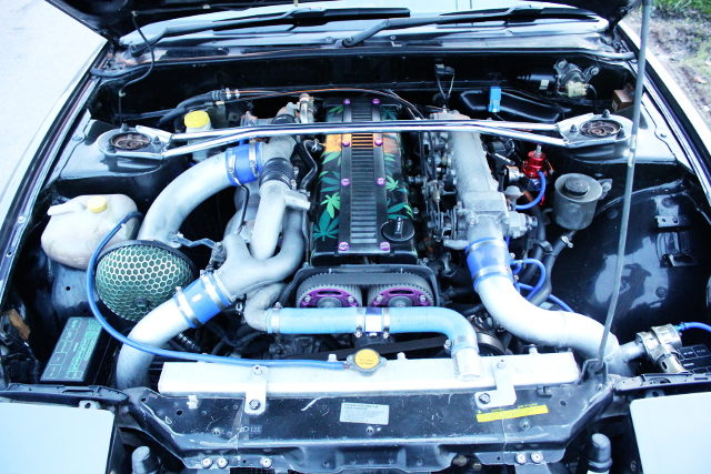 1JZ TWIN TURBO ENGINE