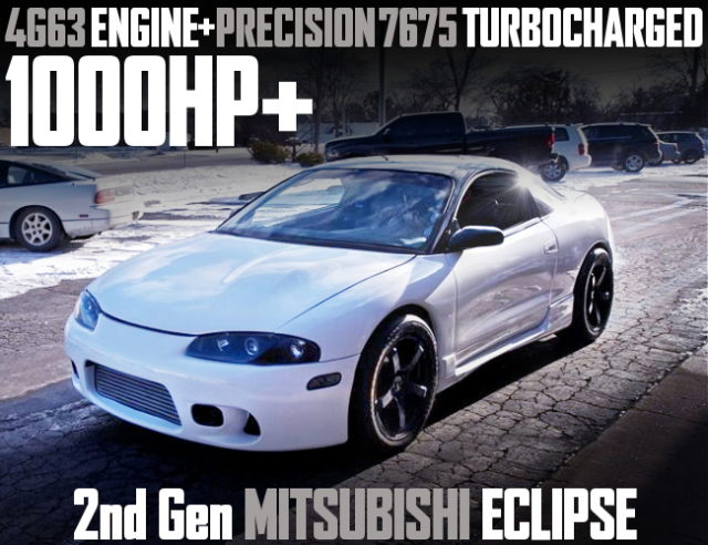 1000HP 2nd Gen ECLIPSE WHITE