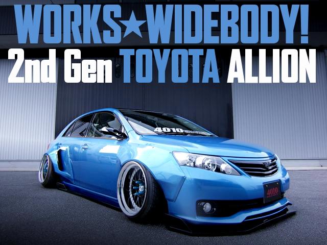 WORKS WIDE 2nd Gen ALLION BLUE METALLIC