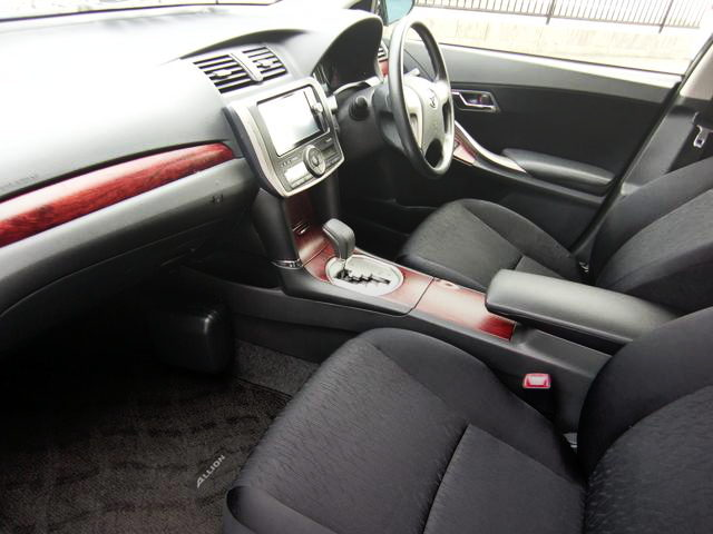 2nd Gen ALLION INTERIOR