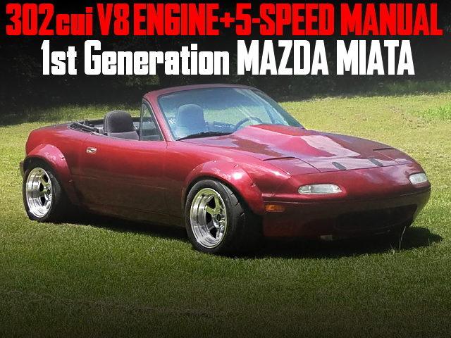 302cui v8 MOTOR 1st Gen MAZDA MIATA