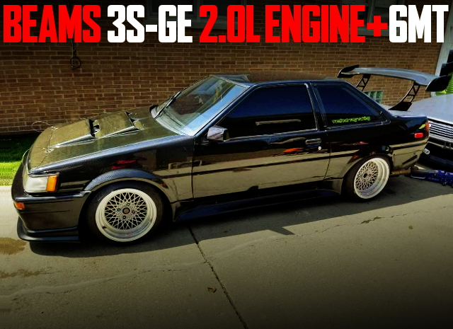 3SGE BEAMS SWAP AE86 2-DOOR