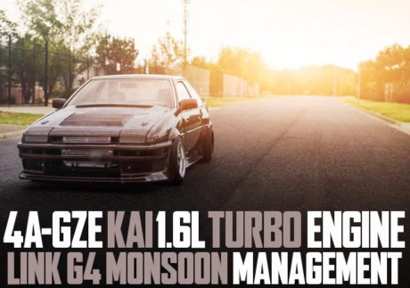 4A-GZE TURBO ENGINE AE86 COROLLA 2-DOOr