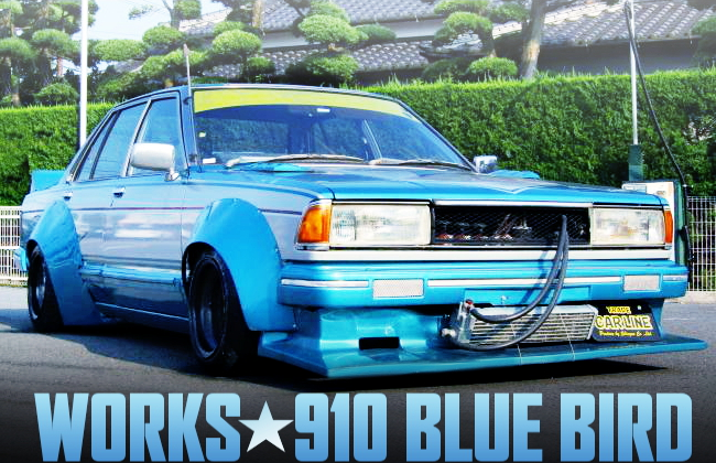 WORKS WIDE KAIDO RACER 910 BLUE BIRD
