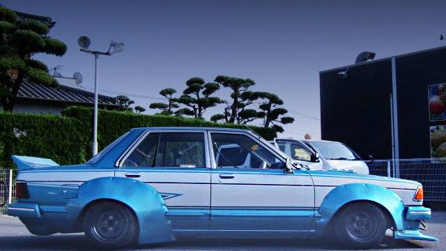 SIDE EXTERIOR KAIDO RACER 910 BLUEBIRD