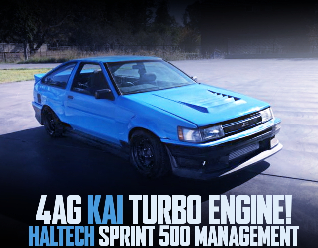 4AG KAI TURBO AE86 WIDEBODY LIGHT BLUE