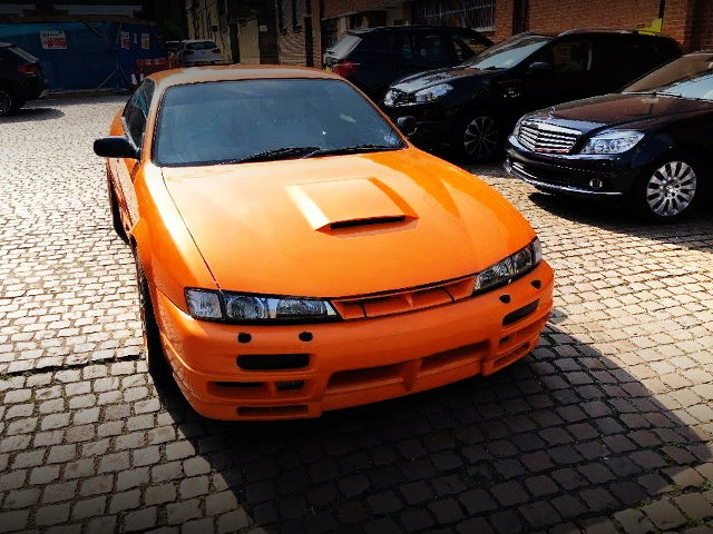 FRONT FACE KOUKI S14 LAMBO ORANGE