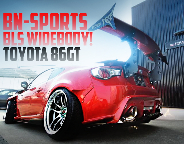 BN-SPORTS WIDEBODY TOYOTA 86GT RED