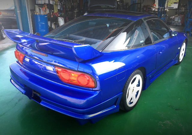 REAR TAIL LIGHT 180SX BLUE