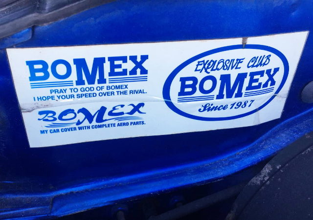 BOMEX DECAL