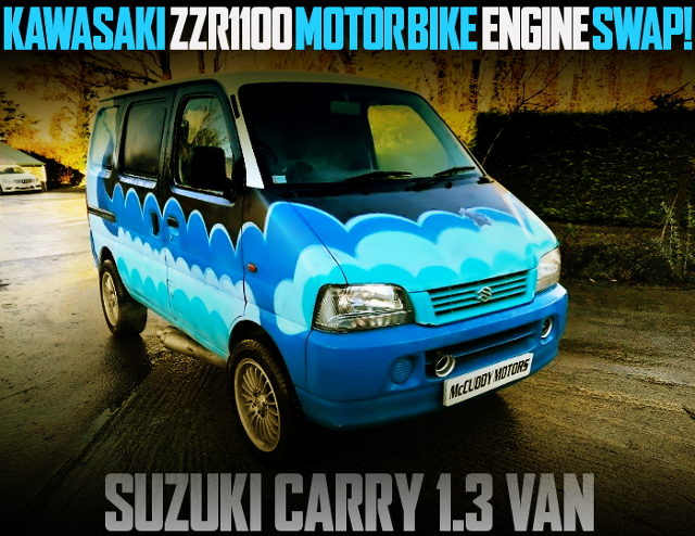 KAWASAKi ZZR1100 ENGINE SUZUKI CARRY VAN