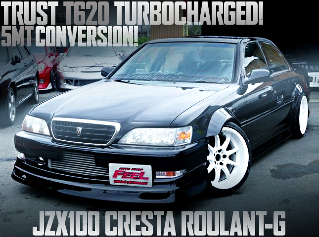 TRUST T620 TURBOCHARGED 5MT JZX100 CRESTA