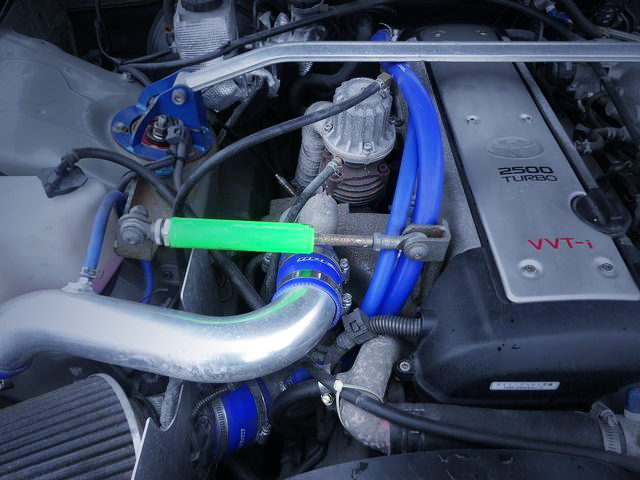 WASTAGATE-VALVE ON 1JZ-GTE
