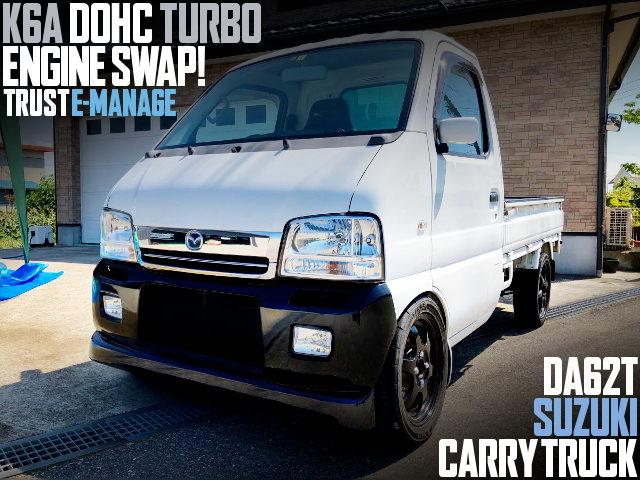 K6A DOHC TURBO SWAP DA62T CARRY
