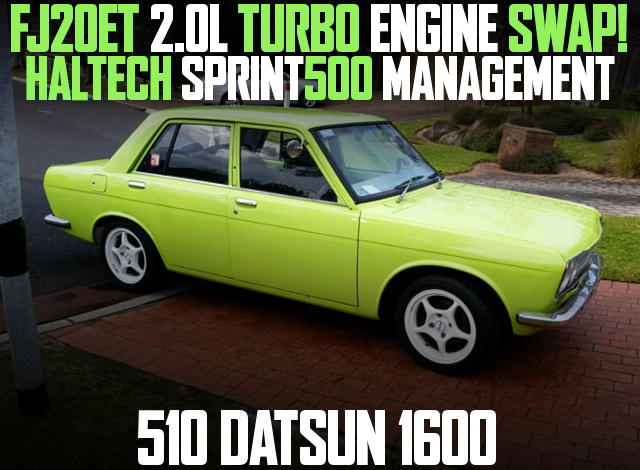 FJ20ET TURBO ENGINE 510 DATSUN 1600