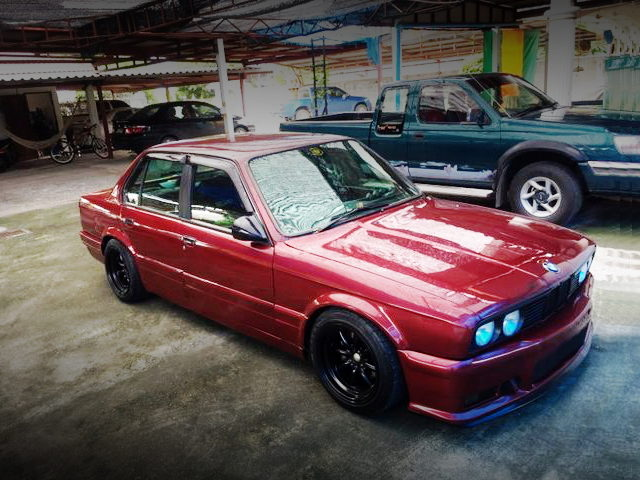 FRONT EXTERIOR E30 BMW 3-SERIES RED