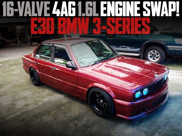16V 4AG SWAP E30 BMW 3-SERIES